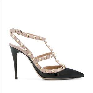 Valentino patent Rockstud heels